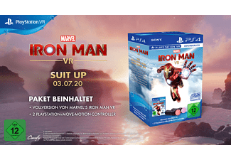 SONY Marvel's Iron Man VR PLAYSTATION® MOVE CONTROLLER BUNDLE} Schwarz