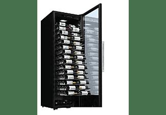 Vinoteca - La Sommelière, 152 Botellas, 15 bandejas deslizantes, LEDs alumbrando etiquetas
