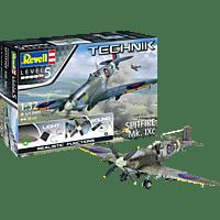 REVELL Supermarine Spitfire Mk.IXc - Technik Bausatz, Mehrfarbig