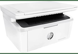 Impresora multifunción - HP LaserJet Pro MFP M28a, Monocromo, 18 ppm, 600x600 ppp, A4, USB, Blanco