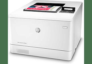 Impresora láser - HP  Color LaserJet Pro M454dn, 600 x 600 ppp, Wifi, 27 ppm, Doble cara, Blanco