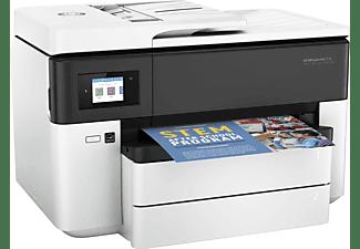 Impresora multifunción - HP OfficeJet Pro 7730, Inyección térmica, Pantalla LCD, WiFi, Doble