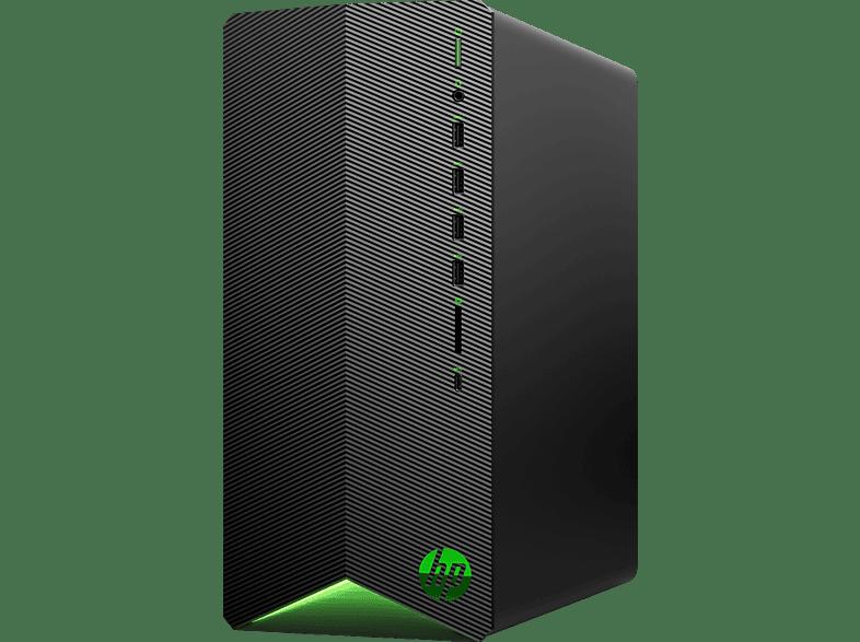 HP Pavilion Gaming TG01-0325ng, Gaming PC, Core™ i5 Prozessor, 16 GB RAM, 512 GB SSD, 2 TB HDD, GeForce® GTX 1660 Ti, Schwarz