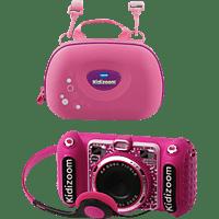 VTECH KIDIZOOM DUO DX + TRAGETASCHE Spielzeug, Pink