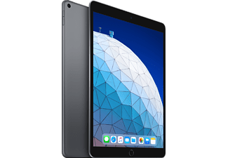 APPLE iPad Air (2019), Tablet, 64 GB, 3 GB RAM, 10.5 Zoll, iOS 12, Space Grey