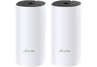 TP-LINK Deco M4 (2 pacchi) - Sistema a maglie WLAN (Bianco/Nero)