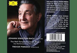 Trevor Pinnock - J.S. Bach: The Well-Tempered Clavier, Book 1, BWV  - (CD)