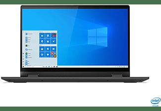 LENOVO IdeaPad Flex 5, Convertible mit 14 Zoll Display, Core™ i5 Prozessor, 8 GB RAM, 512 GB SSD, GeForce MX330, Platinsilber