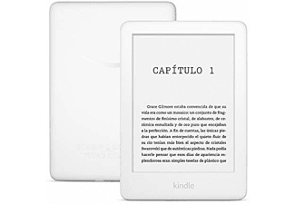 "eReader - Amazon Kindle White, Para eBook, 6"" 167 ppp LED, WiFi, Luz integrada regulable, 8 GB, Blanco"