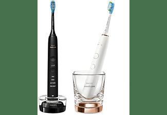 PHILIPS Sonicare DiamondClean 9000 HX9914/57 elektrische Zahnbürste, rose + black