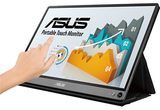 ASUS ZenScreen Touch MB16AMT 15,6 Zoll Full-HD Portable Monitor (5 ms Reaktionszeit, 60 Hz)