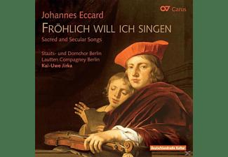 Staats-und Domchor Berlin, Kai-uwe Jirka, Lautten Compagney Be, Jirka/Staats-Und Domchor Berlin/Lautten - Fröhlich Will Ich Singen-Geistl.Und Wel  - (CD)