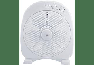 Ventilador de sobremesa - OK OFF 304021, 3 velocidades, 50W, Temporizador, Blanco