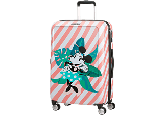 AMERICAN TOURISTER Funlight Disney Spinner gurulós bőrönd, 67/24, Minnie-Miami Holiday (122090-7922)