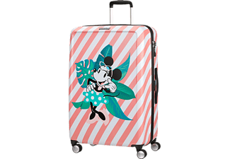 AMERICAN TOURISTER Funlight Disney Spinner gurulós bőrönd, 77/28, Minnie-Miami Holiday (122091-7922)