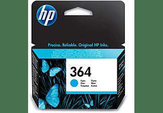 Cartucho de tinta - HP 364, Cian, CB318EE
