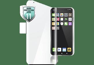 HAMA Displayschutzglas 3D-Full-Screen für Huawei P40 Pro/P40 Pro+, Schwarz