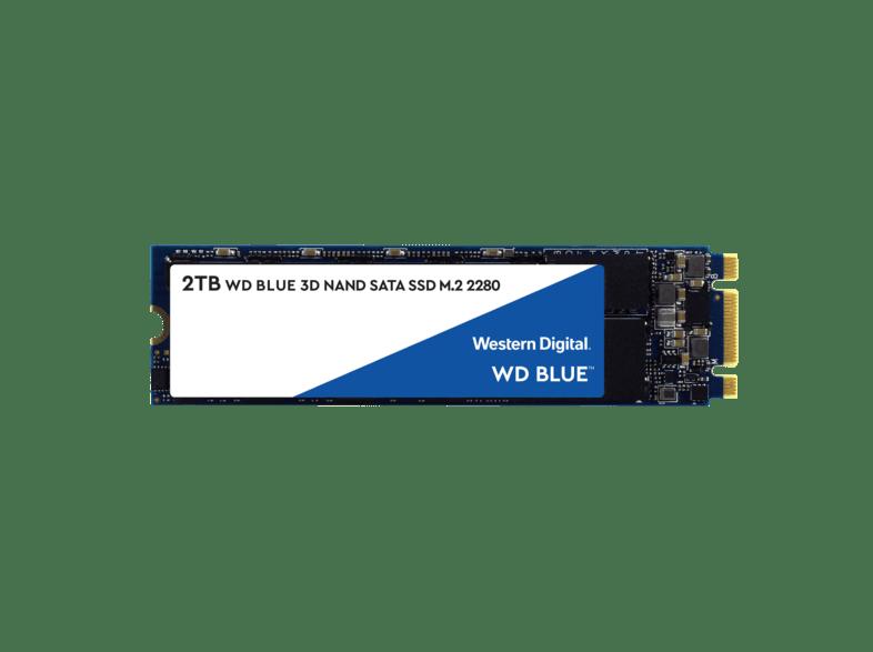 WD WDS200T2B0B, 2 TB SSD, NAND Flash, intern