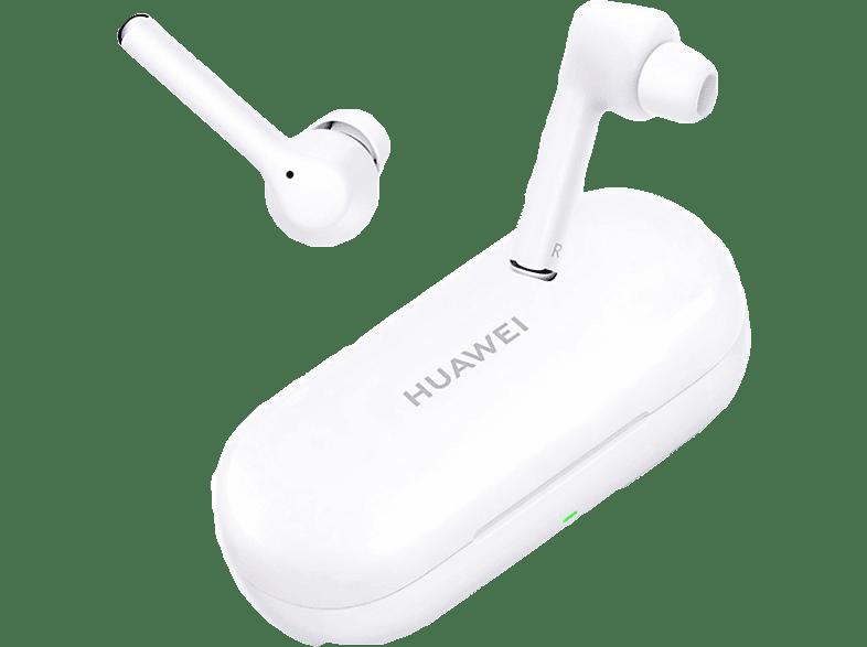 HUAWEI FreeBuds 3i, In ear Kopfhörer Bluetooth Keramikweiß