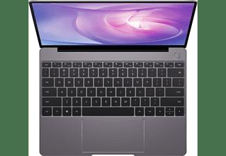 HUAWEI Matebook 13, Notebook mit 13 Zoll Display, Intel® Core™ i5 Prozessor, 8 GB RAM, 512 GB SSD, Intel® UHD Grafik 620, Space Gray