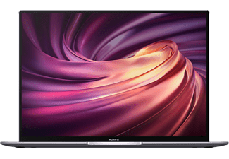 HUAWEI Matebook X Pro 2020, Notebook mit 13,9 Zoll Display Touchscreen, Core™ i7 Prozessor, 16 GB RAM, 1 TB SSD, GeForce MX250, Space Gray