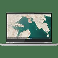 LENOVO Chromebook C340-15, Chromebook mit 15,6 Zoll Display, Core i3 Prozessor, 4 GB RAM, 128 GB eMMC, Intel UHD Graphics 620, Mineral Grey