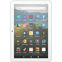 AMAZON Fire HD 8-Tablet, 8-Zoll-HD-Display, 32 GB, Weiß mit Spezialangeboten, Tablet, 32 GB, 8 Zoll, Weiß