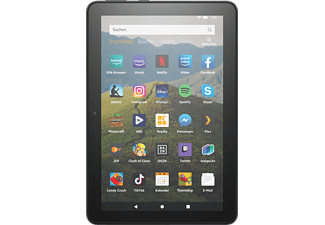 AMAZON Fire HD 8-Tablet, 8-Zoll-HD-Display, 32 GB, Schwarz mit Spezialangeboten, Tablet, 32 GB, 8 Zoll, Schwarz