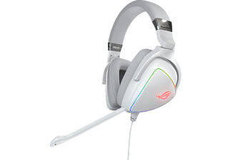 ASUS Rog Delta, Over-ear Gaming Headset weiß