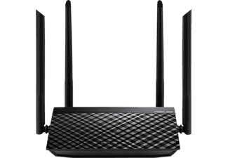 ASUS WLAN Router RT-AC1200 V2 Schwarz