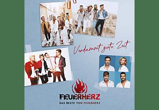 Feuerherz - Verdammt Gute Zeit - Das Beste Von Feuerherz  - (CD)