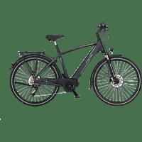 FISCHER VIATOR 4.0I-S2 Trekkingrad (28 Zoll, Rahmenhöhe: 28 Zoll, Herren-Rad, 418 Wh, Grün matt)