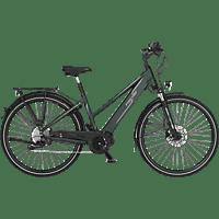 FISCHER VIATOR 4.0I-S2 Trekkingrad (28 Zoll, Rahmenhöhe: 28 Zoll, Damen-Rad, 418 Wh, Grün matt)
