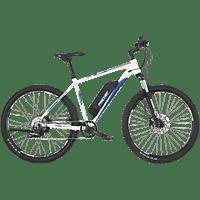 FISCHER MONTIS 2.0-S2 Mountainbike (27,5 Zoll, Rahmenhöhe: 27,5 Zoll, Unisex-Rad, 422 Wh, Weiss matt)