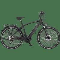 FISCHER VIATOR 4.0I-S1 Trekkingrad (28 Zoll, Rahmenhöhe: 28 Zoll, Herren-Rad, 418 Wh, Schwarz matt)