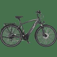FISCHER VIATOR 5.0I-S2 Trekkingrad (Laufradgröße: 28 Zoll, Herren-Rad, 418 Wh, Grau matt)