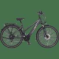FISCHER VIATOR 5.0I-S1 Trekkingrad (28 Zoll, Rahmenhöhe: 28 Zoll, Damen-Rad, 418 Wh, Grau matt)