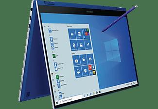 SAMSUNG Galaxy Book Flex, Convertible mit 13,3 Zoll Display, Core™ i5 Prozessor, 8 GB RAM, 256 GB SSD, Intel® Iris® Plus, Royal Blue