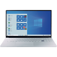 SAMSUNG Galaxy Book Ion, Notebook mit 15,6 Zoll Display, Core™ i7 Prozessor, 16 GB RAM, 512 GB SSD, GeForce MX250, Aura Silver