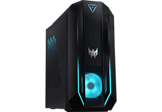ACER Predator Orion 3000 (PO3-620) - Ordinateur Gaming (512 GB SSD + 1 TB HDD, NVIDIA® GeForce® GTX 1660 SUPER™, Noir)
