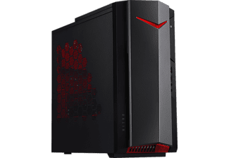 ACER Nitro N50-610 - Gaming PC (256 GB SSD + 1 TB HDD, NVIDIA® GeForce® GTX 1660 SUPER™, Nero/Rosso)