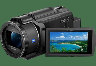 SONY FDR-AX43 Zeiss Kompakt Ultra HD Balanced Optical SteadyShot Flip-Screen Camcorder 4K, Full HD, HD, Exmor R CMOS-Sensor, 20xopt. Zoom