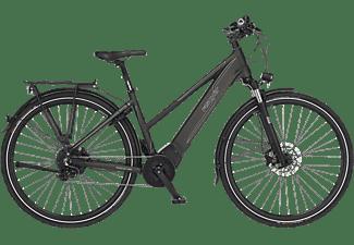 FISCHER VIATOR 6.0I-S2 Trekkingrad (28 Zoll, Rahmenhöhe: 28 Zoll, Damen-Rad, 504 Wh, Grau matt)