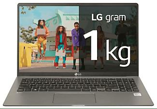 """Portátil - LG 17Z90N-VAA78B, 17"""" WQXGA, Intel® Core™ i7-1065G7, 16 GB, 512 GB SSD, W10 Home, Plata"""
