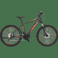FISCHER MONTIS 4.0I-S2 Mountainbike (27,5 Zoll, Rahmenhöhe: 27,5 Zoll, Unisex-Rad, 418 Wh, Grau matt)
