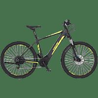 FISCHER MONTIS 5.0I-S2 Mountainbike (Laufradgröße: 27,5 Zoll, Unisex-Rad, 418 Wh, Grau matt)
