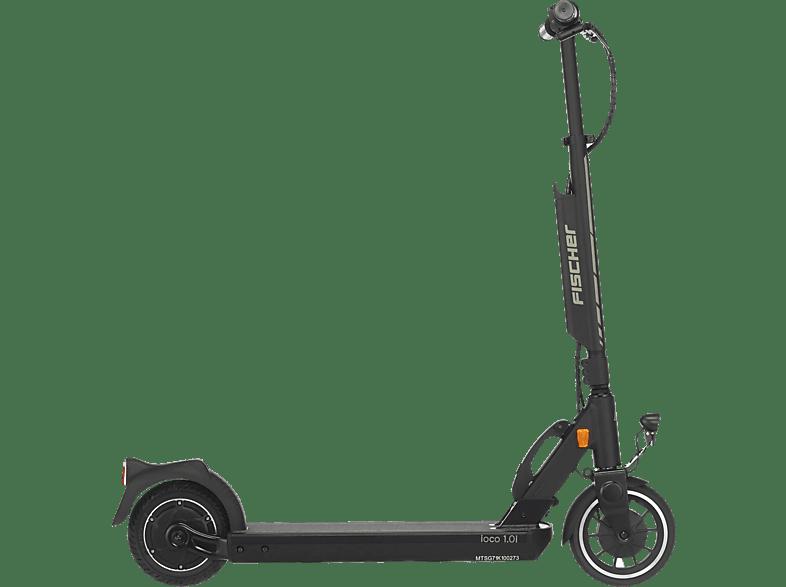 FISCHER 61346 IOCO 1 E-Scooter (8 Zoll, Schwarz)