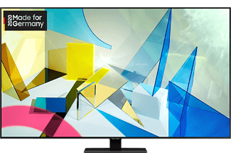 SAMSUNG GQ75Q80T QLED TV (Flat, 75 Zoll / 189 cm, UHD 4K, SMART TV)