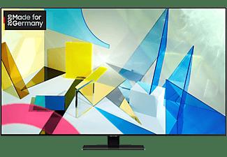 SAMSUNG GQ65Q80T QLED TV (Flat, 65 Zoll / 163 cm, UHD 4K, SMART TV)