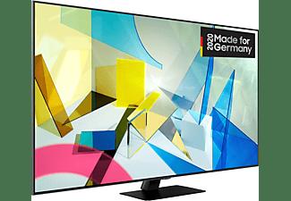 SAMSUNG GQ55Q80T QLED TV (Flat, 55 Zoll / 138 cm, UHD 4K, SMART TV)
